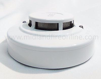 Conventional Optical Smoke Detector BASE INC - Global Fire Equipment FREE UK P&P Detector Base