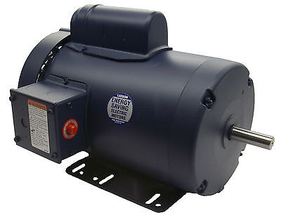 2 Hp 3450 Rpm 56h 115208-230v Leeson Electric Motor Tefc Newfree Shipping