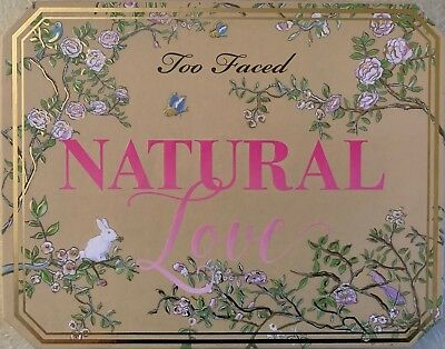 (Too Faced Natural Love Ultimate Neutral Eye Shadow Palette 30 Shades Ship US)