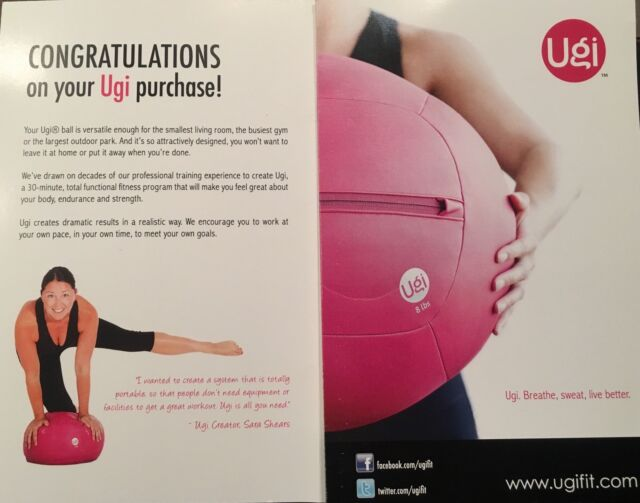 Ugi Balls - 8 or 10lbs including 5 x Total Body workout DVD | Gym ...