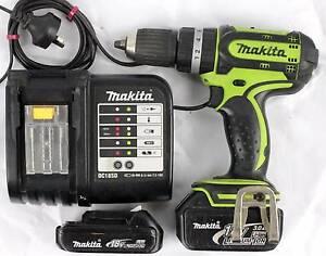Makita BHP452 Cordless Hammer Driver Drill set Morley Bayswater Area Preview