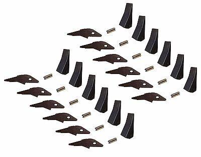 12 Skid Steer Flushmount Bucket Shanks Teeth Flexpins. 2300fl 230 230pn