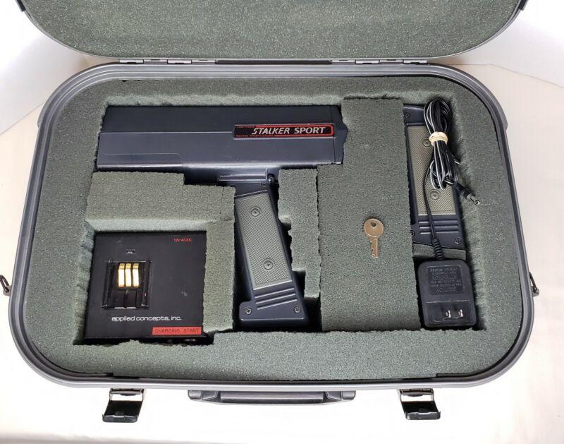 Stalker Sport Radar Gun w/ Case, Charger, and 2 Rechargeable Batteries