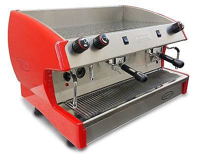 New Elite 2 Group Espresso Machine Cappuccino Latte Coffee