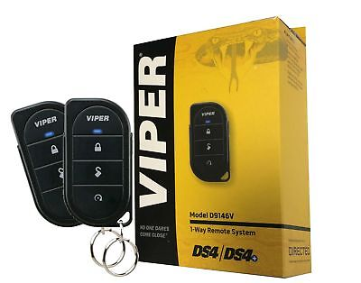 Viper D9146V 1-Way 4-Button DS4 / DS4+ RF Kit with up to 1/4 Mile Range