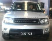 2011 SILVER LANDROVER WAGON Sunshine North Brimbank Area Preview
