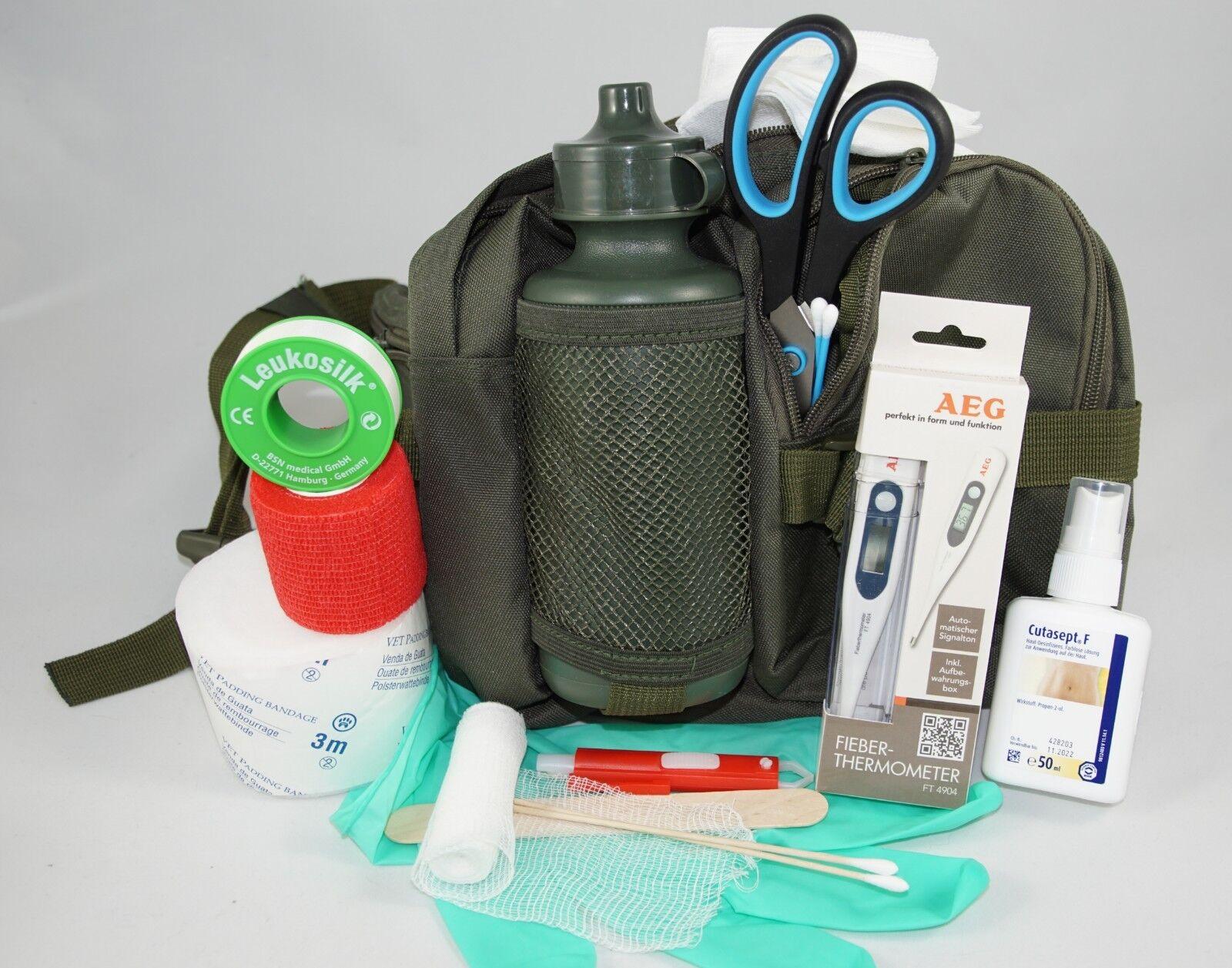 Erste-Hilfe-Set speziell für den Hund - von Tierarzt Dr. med. vet. Stefan Knoop
