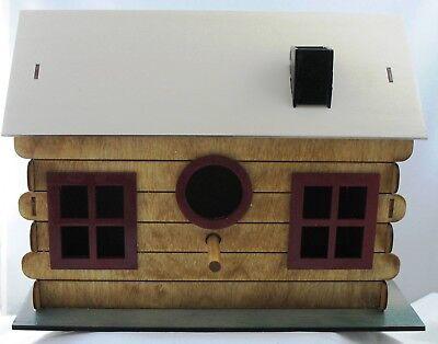 Bird House Adobe Log Cabin  Kit