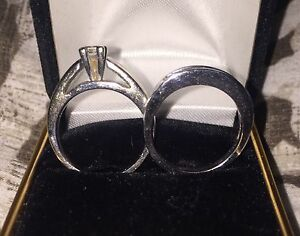 !!!!!!! Engagement wedding Band set