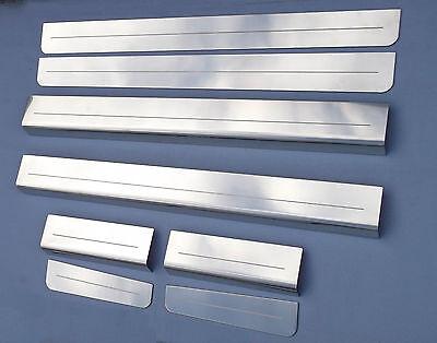 VW UP! / Seat Mii / Skoda Citigo 4 Door Stainless Sill Protectors / Kick Plates