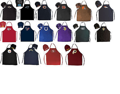 chef hat & apron bbq tailgating NFL PICK YOUR TEAM tailgate barbecue - Nfl Party