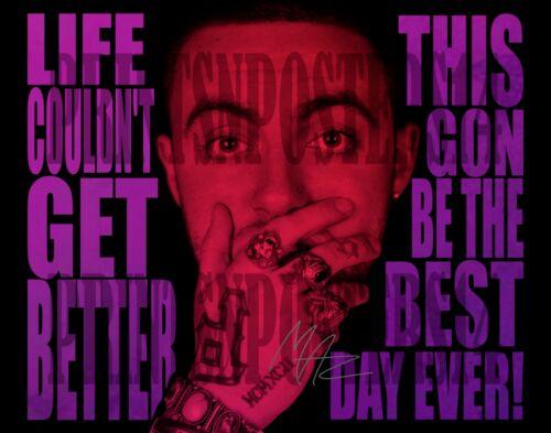Mac Miller Rapper Singer 8x10 SIGNED REPRINT Photo/poster #1