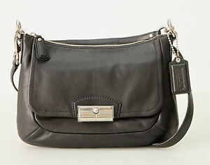 COACH-F22308-Kristin-Leather-East-West-Crossbody-Shoulder-Bag-Purse-NEW-WITH-TAG