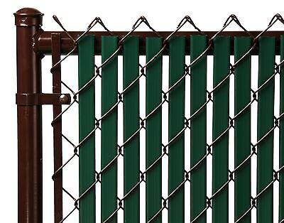 Chain Link Green Double Wall (Tube) Privacy ...