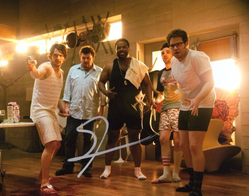 GFA This is The End * SETH ROGEN * Signed 8x10 Photo S2 COA