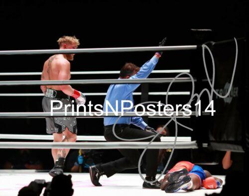 Jake Paul 11x14 SIGNED REPRINT YouTube Boxing #3