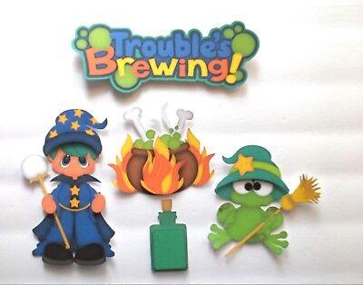 Halloween Can Crafts (3D UPick New09 Boy Girl Halloween Canning Fall  Card Scrapbook)