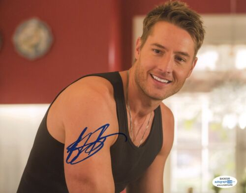 Justin Hartley This is Us Autographed Signed 8x10 Photo ACOA #2