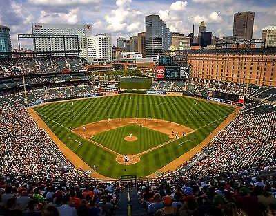 Baltimore Orioles Camden Yards - Baltimore Orioles Camden Yards MLB Baseball Photo 11x14 Photograph Print Choices