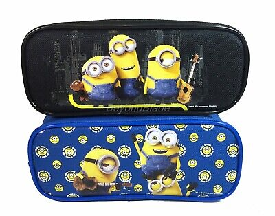 Minion Set of 2 Pencil Pouch Zippered Pencil Case Authentic Bag for sale  Shipping to India