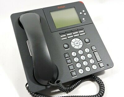 Avaya 9650 Business Phone Voip Digital Ip Office With Handset And Stand