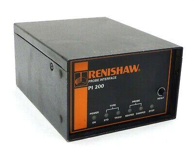 Renishaw Cmm Pi200 Probe Controller V.8 Electronic Interface Metrology Tested