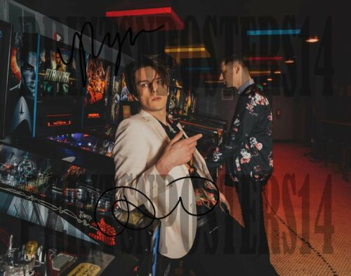 IDK How But They Found ME 8x10 SIGNED REPRINT Dallon Weekes Panic! #2