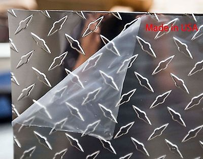 1 Sheet Of Aluminum Diamond Plate 0.025 X 48 X 120