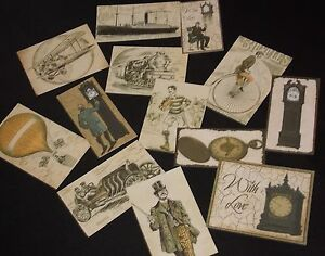 MALE THEMED/ VINTAGE STYLE TOPPERS,MAKE YOUR OWN HANDMADE CARD/SCRAPBOOK..