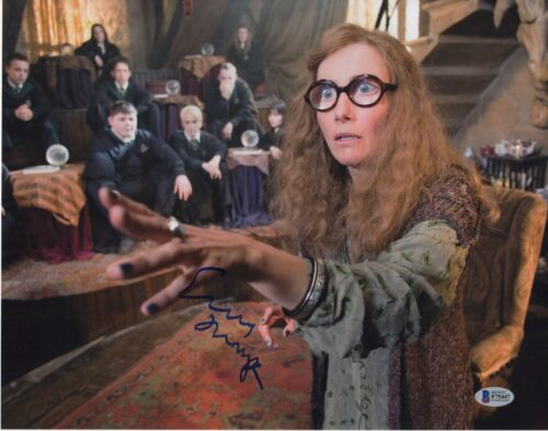 EMMA THOMPSON SIGNED HARRY POTTER PHOTO 11X14 AUTOGRAPH SYBILL PSA BAS COA!