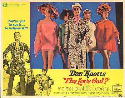 The Love God Original 1969 Lobby Card Don Knotts Sexy Babes 11X14 Movie Poster