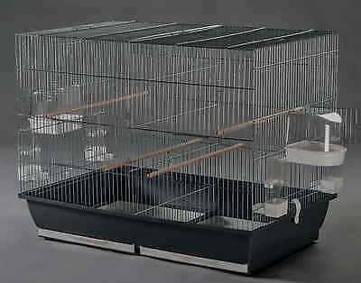 Vogelkäfig,78x48x60 cmZuchtkäfig Trennkäfig ,Kanarienkäfig  ,Wellensittichkäfig