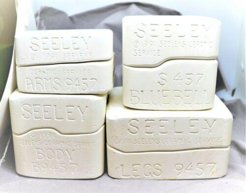 Seeley Porcelain Doll Molds Bluebell Head S457 Body B9457 Arms 9457 Legs 9457