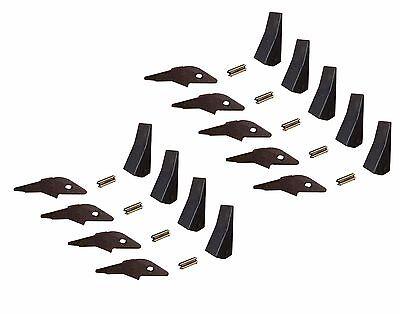 9 Skid Steer Flushmount Bucket Shanks Teeth Flexpins. 2300fl 230 230pn