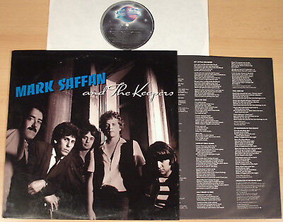 MARK SAFFAN & THE KEEPERS - same  (PLANET RECORDS, US 1981 + OIS / LP m-) (Samen Keeper)