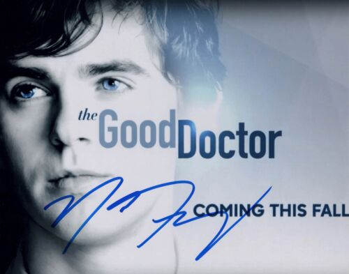 """NICHOLAS GONZALEZ signed Autographed """"THE GOOD DOCTOR"""" 8X10 PHOTO - Dr Neil COA"""