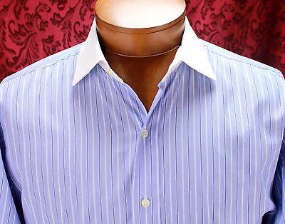 Polo Ralph Lauren Men Dress Shirt Size 16.5 32 Classic Fit French Cuff Regent