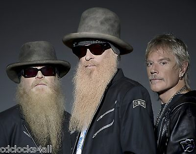 ZZ Top  Rock and Roll Band  8 x 10 GLOSSY Photo Picture