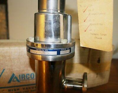 Skinner - Airco High Vacuum Valve 1 18 Inch 2030 24 Vdc