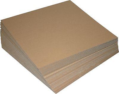 100 St. LP-Versandfüllplatten 315x315 mm, Karton Zuschnitte