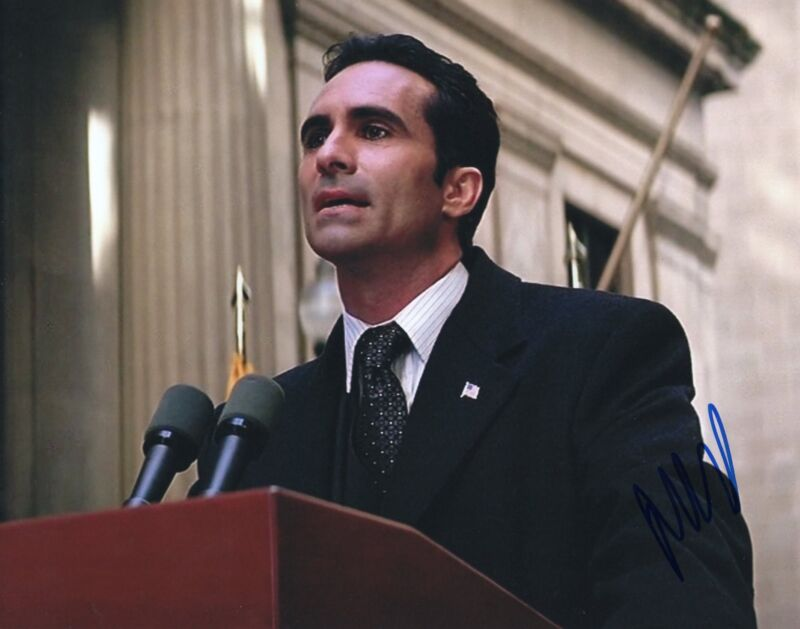 Nestor Carbonell Batman The Dark Knight Mayor Signed 8x10 Photo w/COA #2