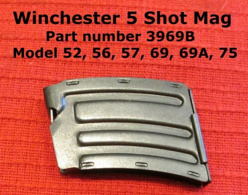Winchester 5 Shot Magazine for Models 52, 56, 57, 69, 69A, 75 and 697 - NEW