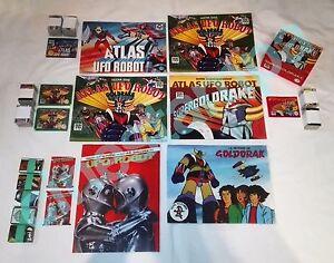 Collezione-Album-e-Figurine-ATLAS-UFO-ROBOT-GOLDRAKE-Edierre-Solaris-Age