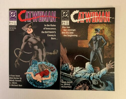 Catwoman #1 2 3 4 1989 prostitute Selina Kyle