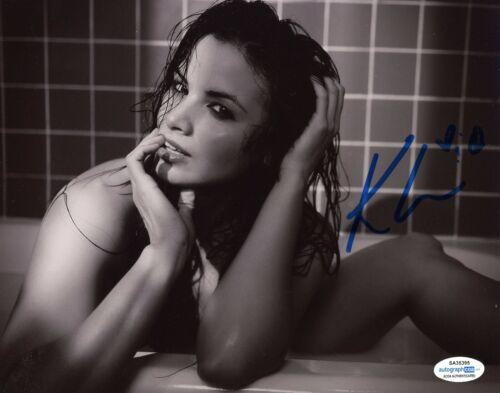 Katrina Law Sexy Autographed Signed 8x10 Photo ACOA #1