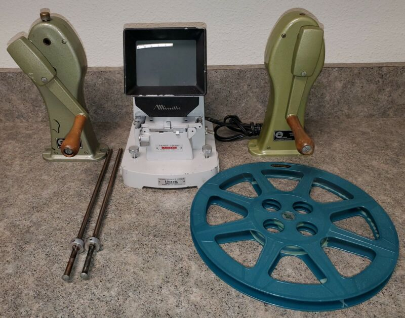 Hervic Minette Sixteen 16mm Movie Viewer Editor Outfit - Free Shipping!!!