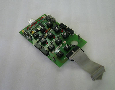 Emco Keypad Control Board for CNC Lathe, Y1X061000, Used, Warranty