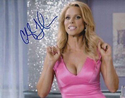 Cheryl Hines Signed  Suburgatory  Tv Show 8X10 Photo  Dallas Royce  W Coa  1