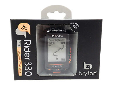 BRYTON GPS COMP RIDER 330T BIKE COMPUTER BUNDLE w/ CADENCE & HEART RATE