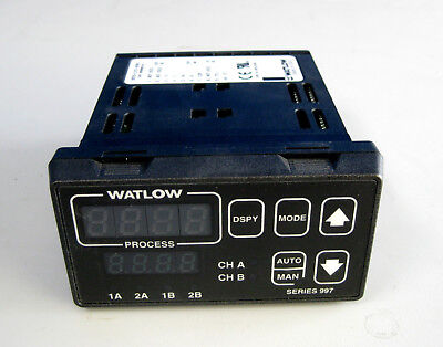Watlow 997d-11cc-asrg Digital 2-channel Temperature Controller Module